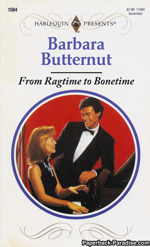 Poster - 1504 $2.89 11504 November HARLEQUIN PRESENTS Barbara Butternut From Ragtime to Bonetime Paperback Paradise.com
