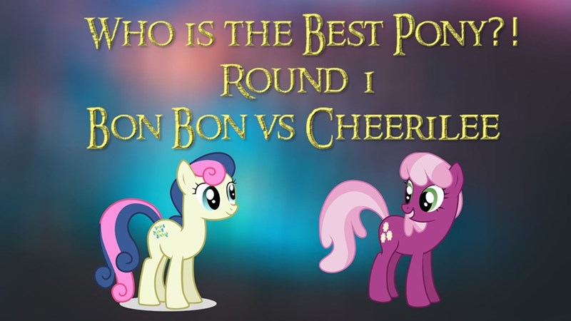 cheerilee best pony bon bon - 9214516992
