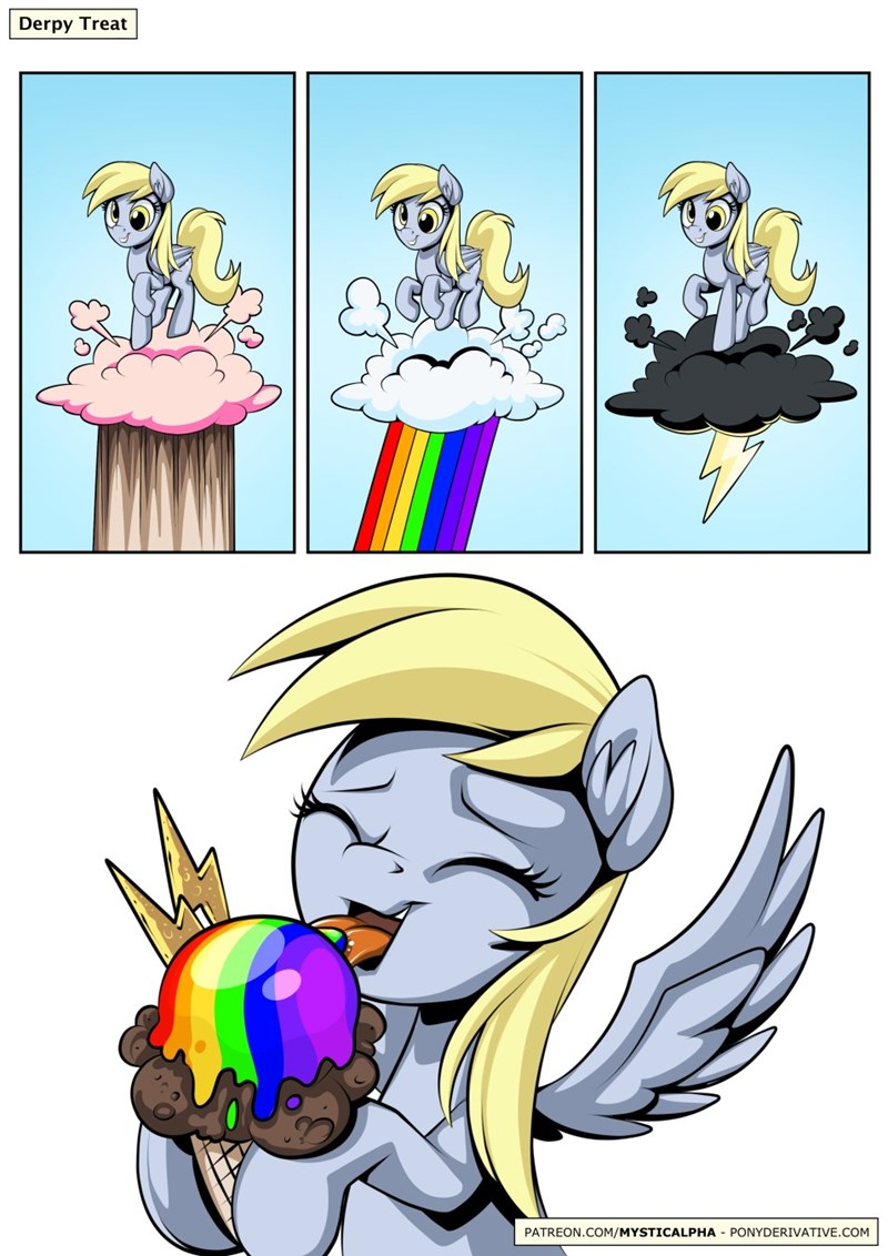 derpy hooves comic mystic alpha - 9214550272