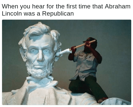 abraham lincoln was a republican say what
