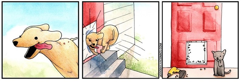 Cartoon - ODBEARCOMIC NOD