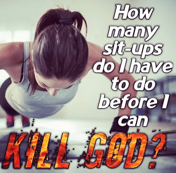 meme - Text - How many sit-ups do I have to do before I can 2