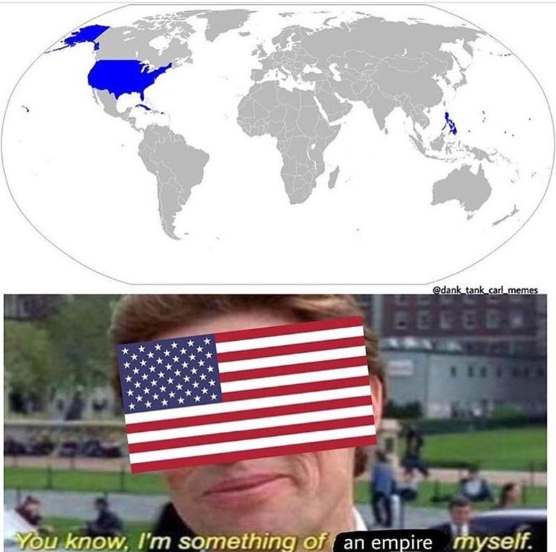 meme - Flag - @dank tank carl_memes You know, I'm something of an empire myself