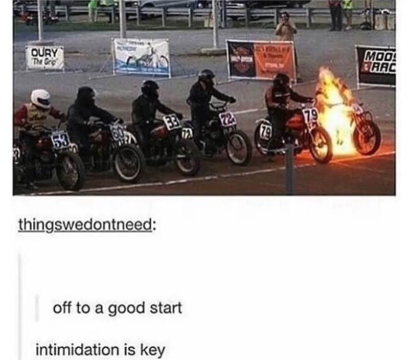 Motorcycle - OURY The Gri MOO RAAC 79 79 153 thingswedontneed: off to a good start intimidation is key