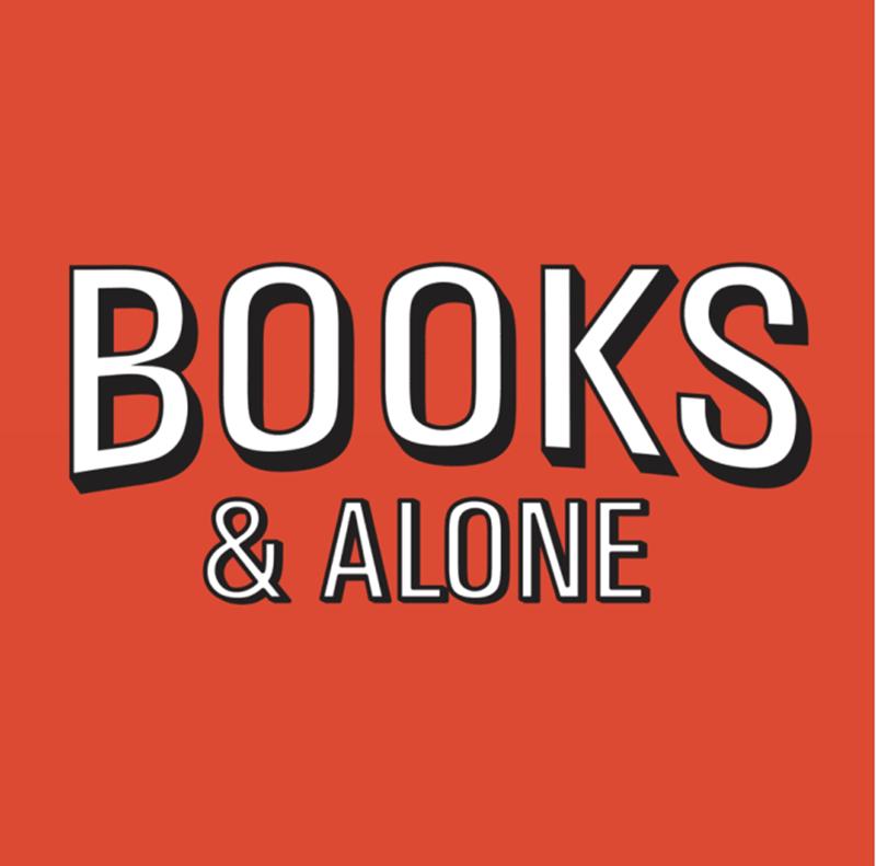 meme - Text - BOOKS & ALONE