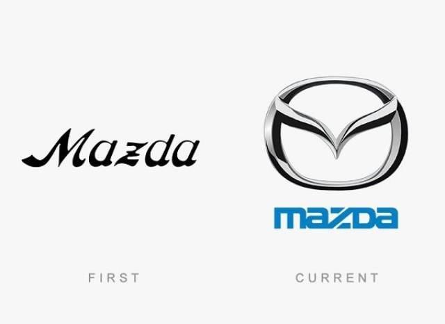 Logo - Mazda mazDa FIRST CURRENT