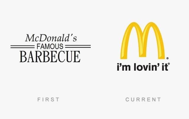 Text - McDonald's FAMOUS BARBECUE i'm lovin' it FIRST CURRENT