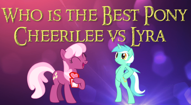 cheerilee lyra heartstrings best pony - 9215933696