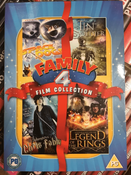 Poster - IN SOLDIER FANLY FILM COLLECTION LOST BOY IN A MAGCAL LAND LEGEND Chris fabeRINGS MAX MAGKIAN AND THE Adventutes PG PG SREP HED NO E THE