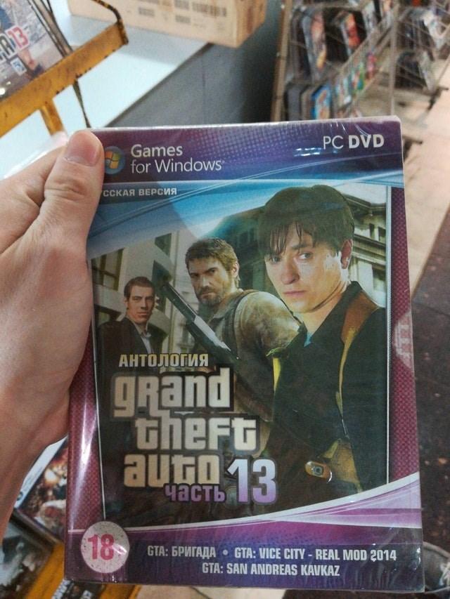 Movie - PC DVD Games for Windows ССКАЯ ВЕРСИЯ АНТОЛОГИЯ grand theft autn 13 часть 18 GTA: 6PMTAAA GTA: VICE CITY-REAL MOD 2014 GTA: SAN ANDREAS KAVKAZ
