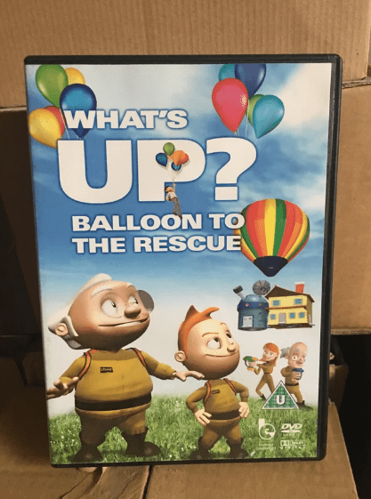 Animated cartoon - WHAT'S UP? BALLOON TO THE RESCUE U DVD