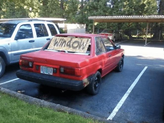 Land vehicle - Window TET 312