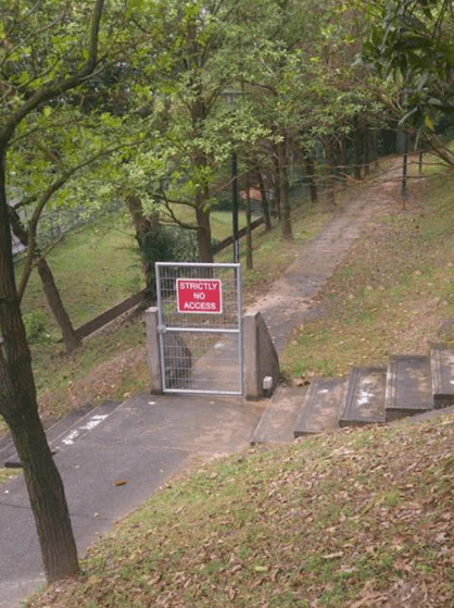 Nature reserve - HISTRICTLY NO ACCESS