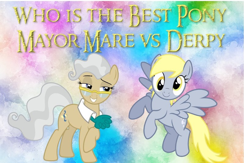 derpy hooves best pony mayor mare - 9216491264