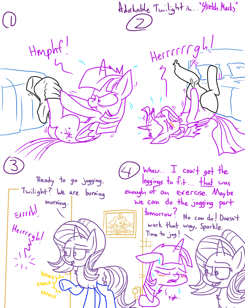 starlight glimmer twilight sparkle comic adorkable twilight and friends - 9216496384