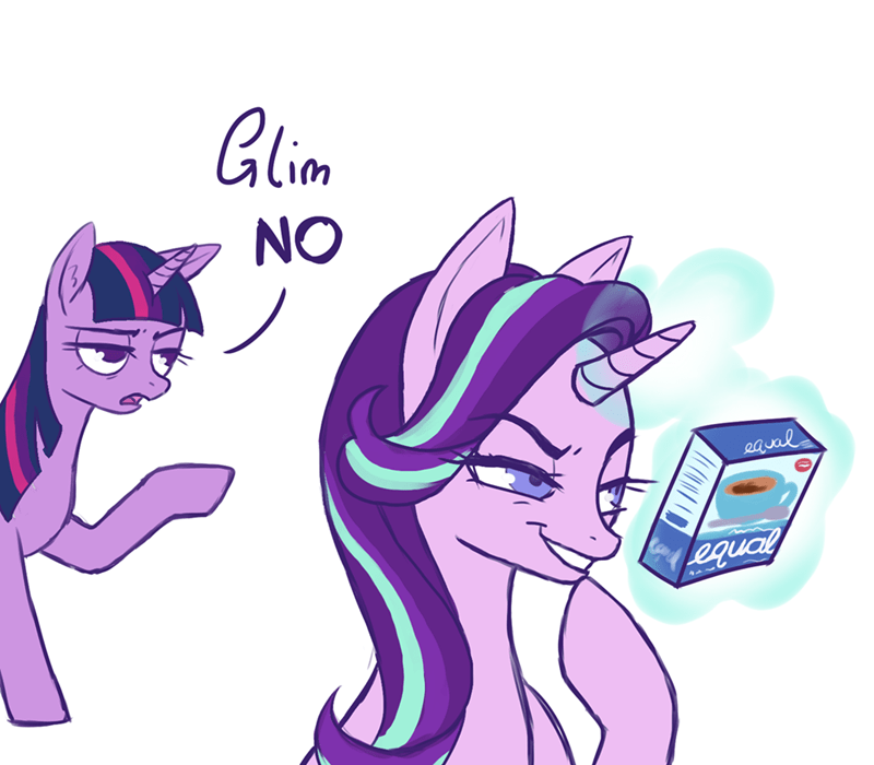 anonymous starlight glimmer twilight sparkle - 9216497408