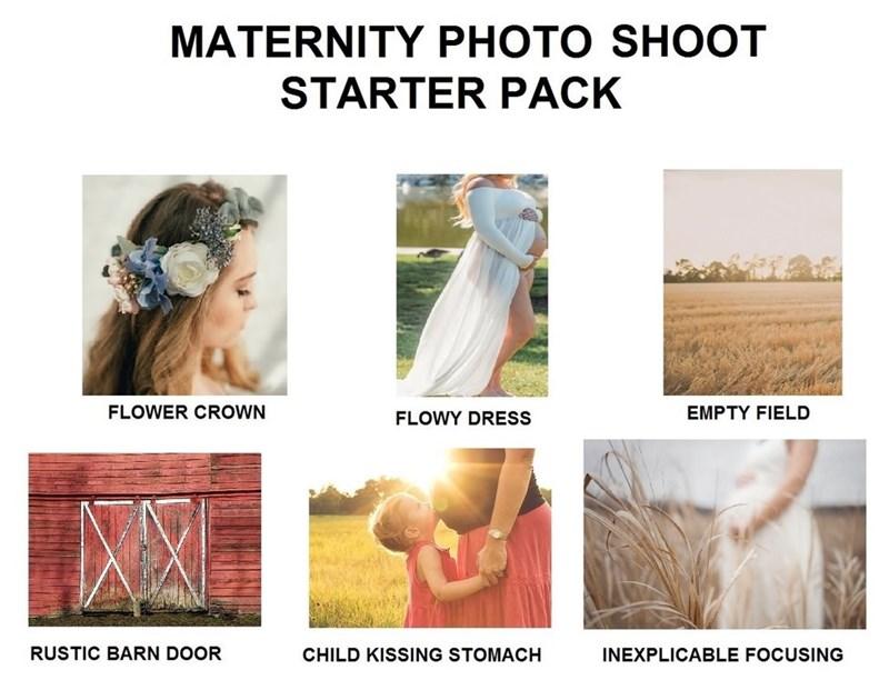 """""""Maternity photo shoot starter pack"""""""