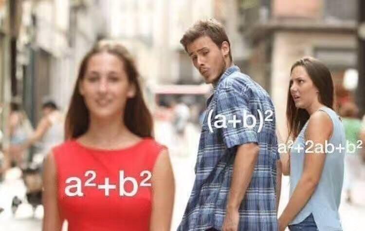 People - (ab) 2 = a2ab+b2 a2+b2