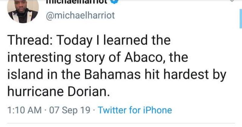 Twitter user tells the story of the most successful slave revolt in US history.