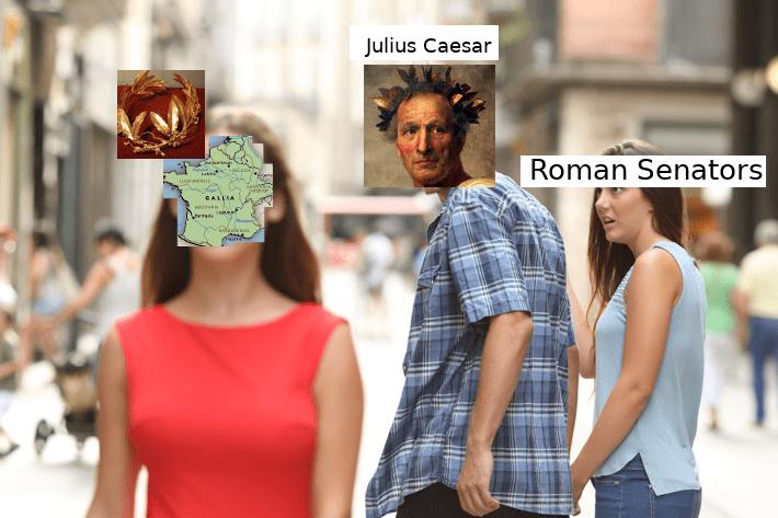 People - Julius Caesar Roman Senators CALLIA