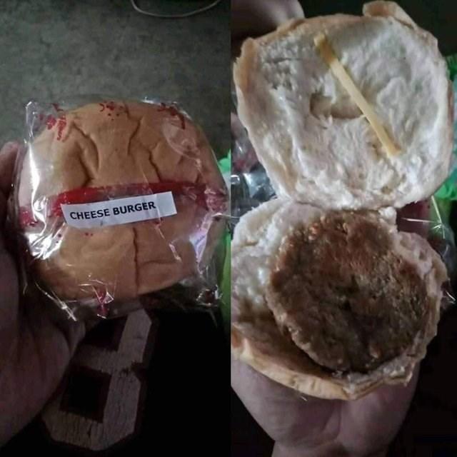 Food - CHEESE BURGER