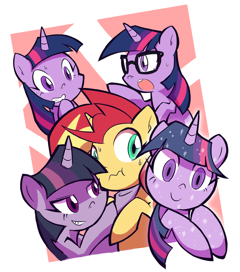 equestria girls tree of harmony rvceric twilight sparkle the mean six what lies beneath sunset shimmer - 9218033920