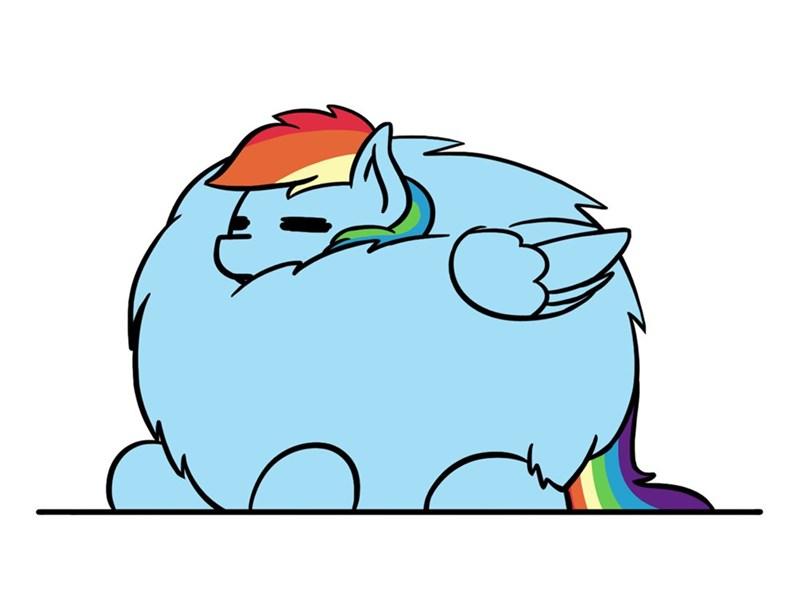 flutterluv ponify rainbow dash borb - 9218034688