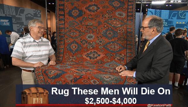 Event - AR Rug These Men Will Die On $2,500-$4,000 @KeatonPatti