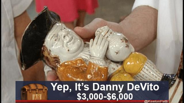 Food - Yep, It's Danny DeVito $3,000-$6,000 AR @KeatonPatti