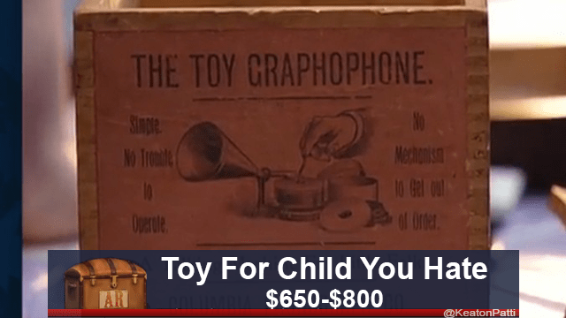 Font - THE TOY CRAPHOPHONE Stmple Mechanisi No Trondle 10 Gel out Operate Toy For Child You Hate $650-$800 AR @KeatonPatti