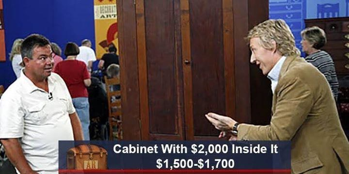 Community - BECEAT Cabinet With $2,000 Inside It $1,500-$1,700 AR