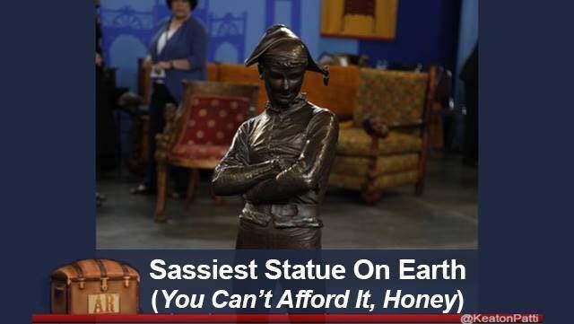 Statue - Sassiest Statue On Earth (You Can't Afford It, Honey) VAR @KeatonPatti