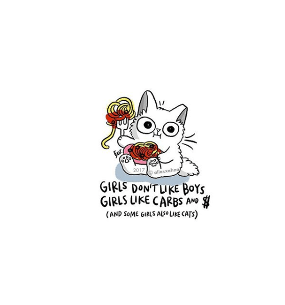 Text - Fur 2017 aliasxahng GIRIS DON'TUKE BOYS GIRLS UKE CARBS AND (AND SOME GIRLS ALSUKE CATS)