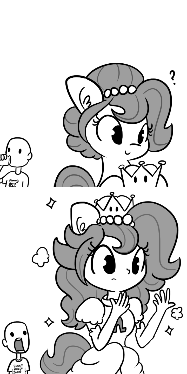 bowsette OC tj pones Memes brownie bun ponify comic horse wife anthropomorphic mario - 9219091712