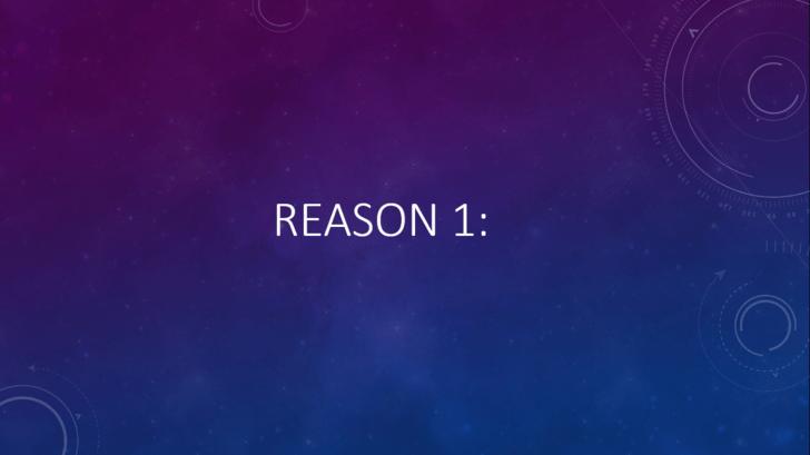 Violet - REASON 1: