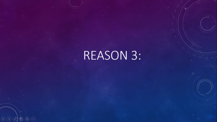 Violet - REASON 3: