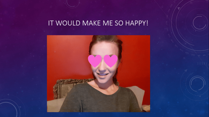 Face - IT WOULD MAKE ME SO HAPPY!