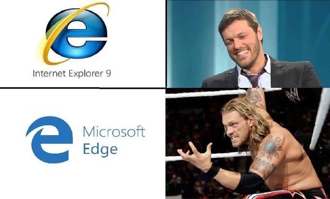 Logo - е Internet Explorer 9 е Microsoft Edge