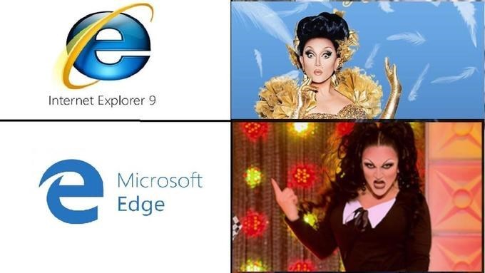 Logo - Internet Explorer 9 Microsoft Edge