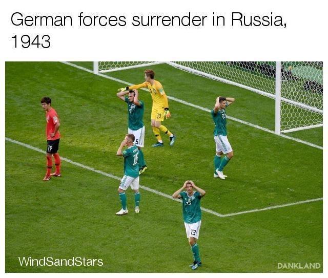 Soccer player - German forces surrender in Russia, 1943 23 5 19 13 WindSandStars DANKLAND