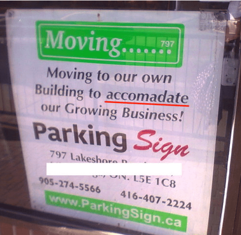 Text - Moving..... 797 Moving to our own Building to accomadate our Growing Business! Parking Sign 797 Lakeshore L5E 1C8 905-274-5566 416-407-2224 www.ParkingSign.ca