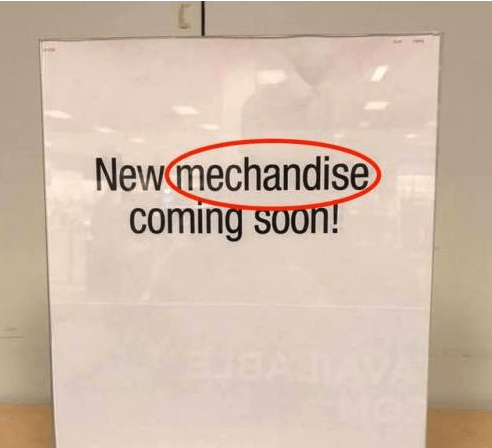 Text - Newmechandise coming soon!