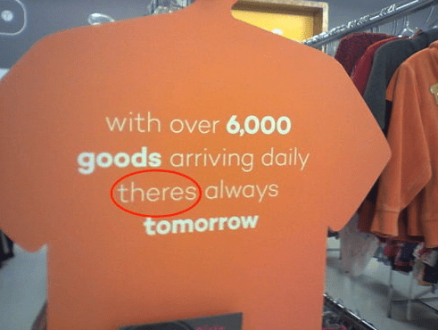 Product - with over 6,000 goods arriving daily theres always tomorrow