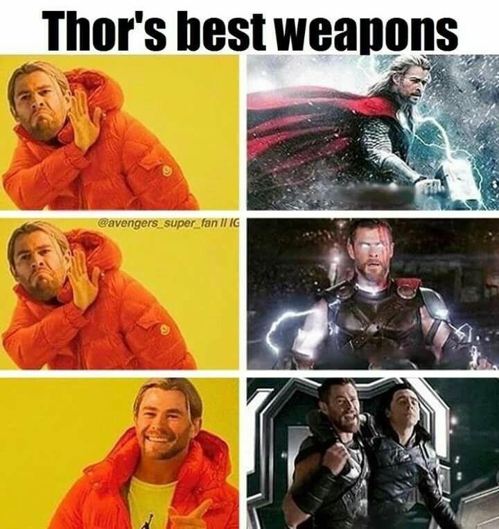 Art - Thor's best weapons Gavengers super fan II IG