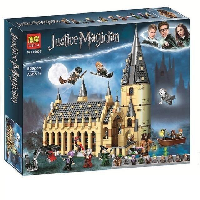 Toy - oferf Justice Magioan 博樂 BELA NO.11007 938pcs AGES 6+ Jerstice Magician