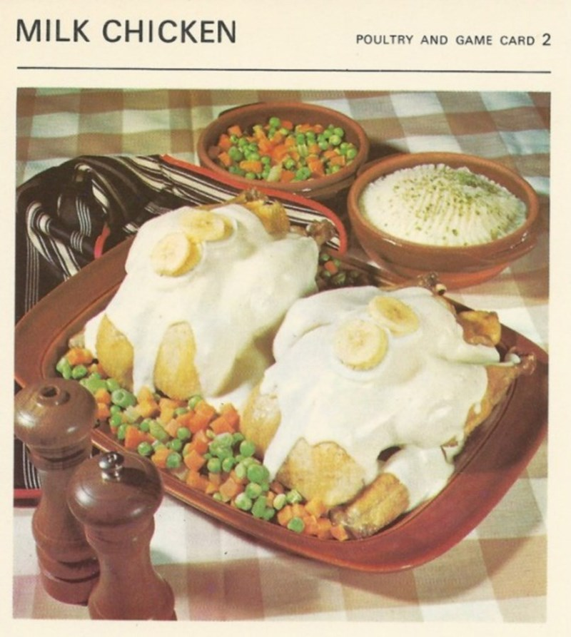 Dish - MILK CHICKEN POULTRY AND GAME CARD 2
