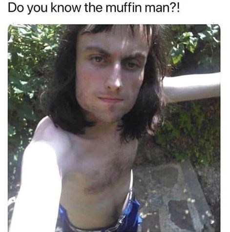 Hair - Do you know the muffin man?!