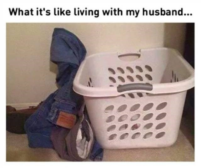Product - What it's like living with my husband...