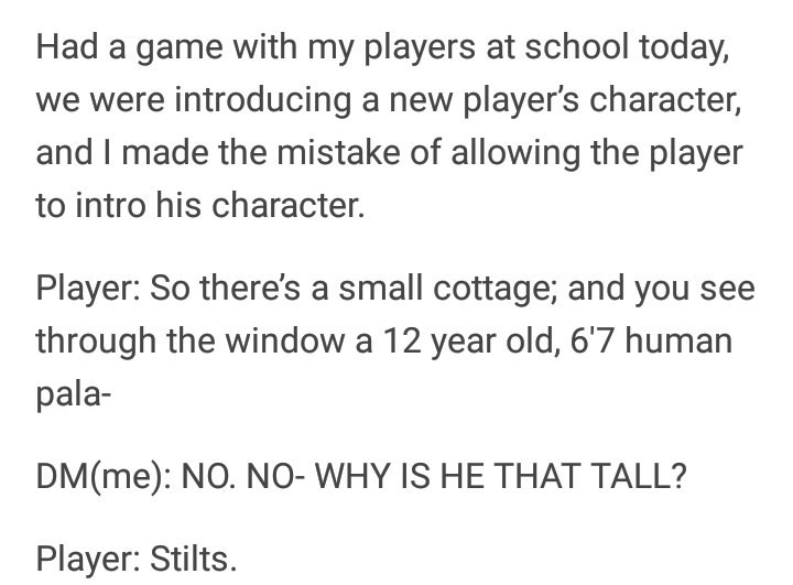 dungeons and dragons meme about introducing new characters