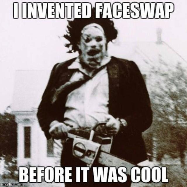 Album cover - IINVENTED FACESWAP BEFORE IT WAS COOL mgflpcom